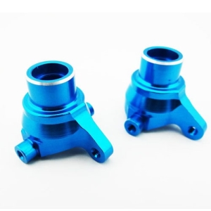 ECE2106 Blue Aluminum Steering Knuckles 1/18 4wd