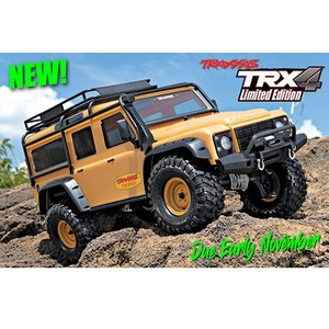 CB82056-TAN TRX-4 CRAWLER,Land Rover TAN body