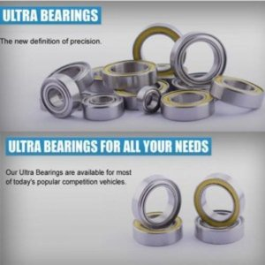 [RDRP3101-1] (키트 베어링 셋트) Ultra Bearing Set Mugen MBX8 ECO
