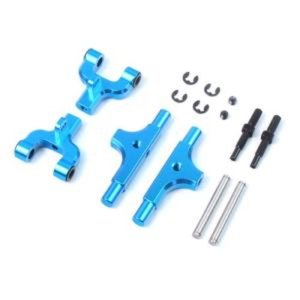 [TTR-124BU] Aluminum Rear Upper Arm for Tamiya TT01 / TT01E (Adjustable Camber Function)