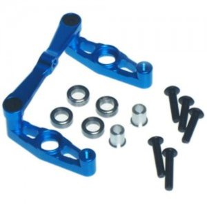 [TT02-042BU] Aluminum Ball Bearing Steering Set For Tamiya TT02