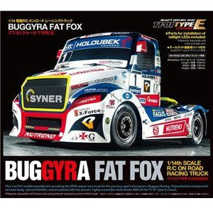 Tamiya 58661 BUGGYRA FAT FOX 1/14 TT-01E 레이싱트럭