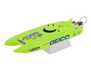 Pro Boat Miss Geico 17-inch RTR Brushed Catamaran Boat 조종기 포함