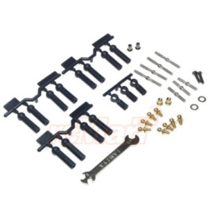 [TA54539] TT-02B Full Turnbuckle Set
