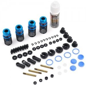 [TATT-022BU] Drift Spec Shock-Gear 50mm Damper Set for 1/10 RC Car Blue