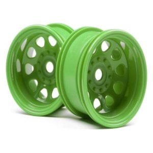CLASSIC KING WHEEL GREEN (2.2IN/2PCS)