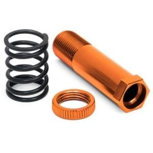 105894 STEERING POST 12x47mm (ORANGE)