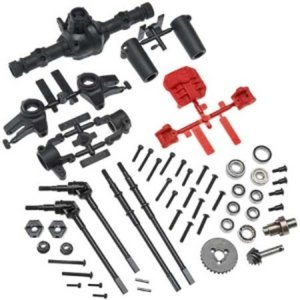 [예약]AX31438 AR44 Locked Axle Set Front/Rear Complete