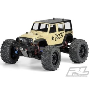 #3405-00 Jeep Wrangler Unlimited Rubicon Clear Body(미도색)