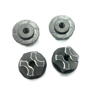New SAVAGE용 FLANGED LOCK NUT (Black / 4pcs)