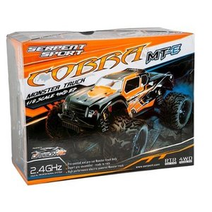 [SER600038] Serpent 1/8 Monster Truck Cobra MT-e ARR (수신기만 장착하면 조립완료)