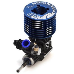 Novarossi S21P5XLT 5 Port .21 Off Road Engine (Turbo Plug) (Blue Cooling Head)