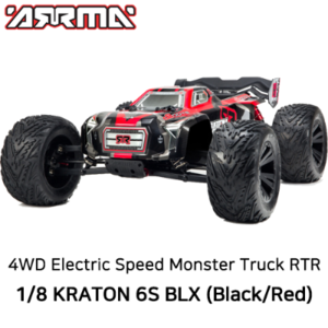 AR106029 ARRMA 1:8 KRATON 6S BLX Brushless 4WD RTR (RED)