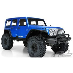 "매장 입고완료 [AP3502-13] Pro-Line Jeep Wrangler Unlimited Rubicon Pre-Painted & Pre-Cut Body (Blue) (TRX-4) (12.8"" Wheelbase)"