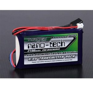 Turnigy nano-tech 2100mAh 2S1P 20C LiFePo4 Transmitter Pack Futaba 조종기용 배터리 (최고급형 송신기 리포) 23816