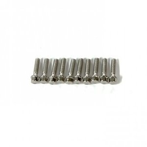 GM72103 M2.5x10mm Scale hex bolts (20)