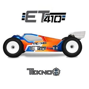 TKR7200 – ET410 1/10th 4WD Competition Electric Truggy Kit