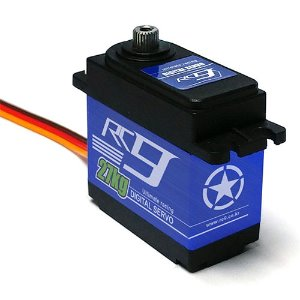 RC927DMG Waterproof Servo w/Metal Gear & Horn