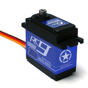 RC920DMG Waterproof Servo w/Metal Gear & Horn