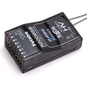 R2008SB 2.4GHz S-FHSS 8-Channel S.Bus Receiver (7PX 7채널 사용 가능)