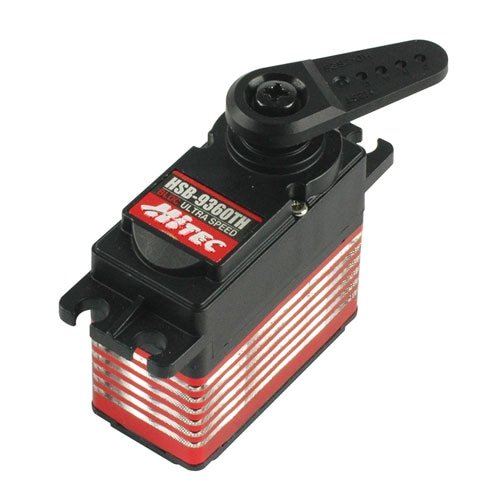 브러쉬리스TH39360 HSB-9360TH High Voltage ULTRA SPEED Brushless Servo (7.4 V Torque: 17 kg.cm / 7.4 V Speed: 0.06 sec/60°) 스피드형 서보
