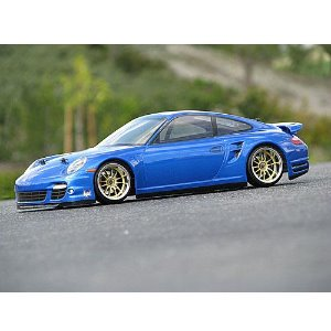17527 PORSCHE 911 TURBO (997) BODY (200mm) - 미도색바디
