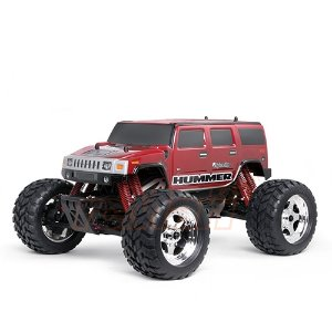 7165 HPI Racing Wheely King Hummer H2 Clear Body