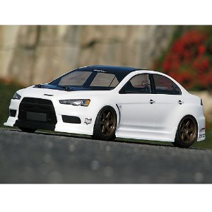 17545 MITSUBISHI LANCER EVOLUTION X BODY (200mm) - 미도색바디