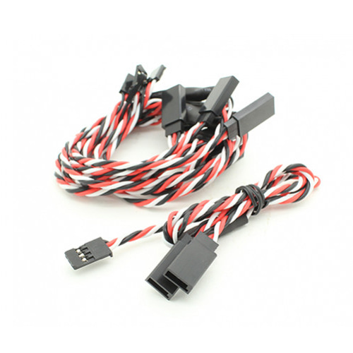 Twisted 30cm Servo Y-Leads (Futaba) 24AWG (1pc) 서보 Y케이블
