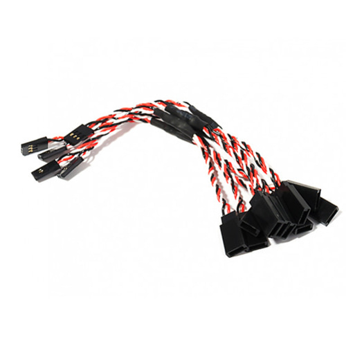 15cm Twisted Servo Y Lead (Futaba) 24AWG (1pcs) 서보 Y케이블