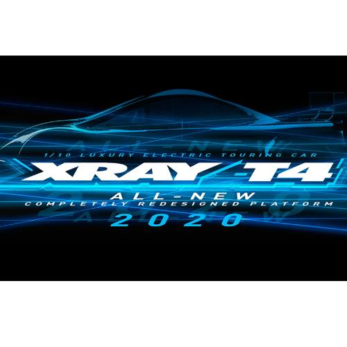 300026 XRAY T4 - 2020 SPECS - 1/10 LUXURY ELECTRIC TC