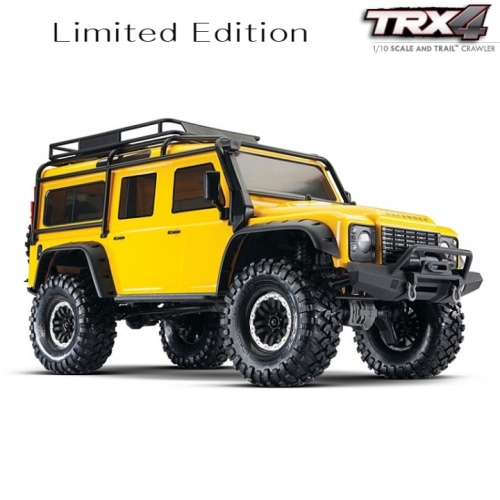 CB82056-4 Y TRX-4 Yellow Limited Edition Scale Crawler