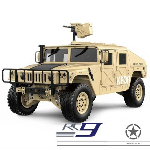 LED 멀펑 버젼 1/10 2.4G 4WD Rc Car Military Vehicle Truck HG-P408 RTR 험비
