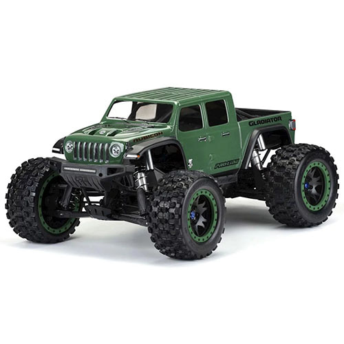 Pro-Line Jeep Gladiator Rubicon Pre-Cut Monster Truck Body (Clear) (X-Maxx)│엑스맥스용 루비콘 바디