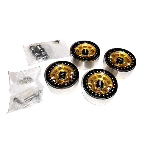 Billet Machined Wheels for C27030GOLD W/O Screws│1.9 메탈 비드락휠