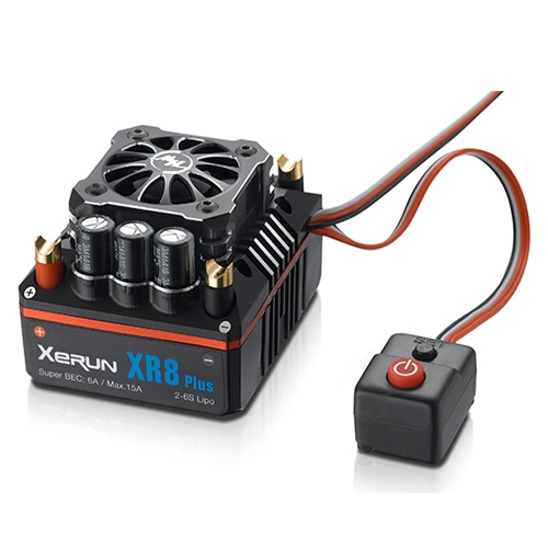 [최고급 1/8차량용 150A 변속기]hobbywing xerun xr8 plus 1/8 competition sensored brushless esc