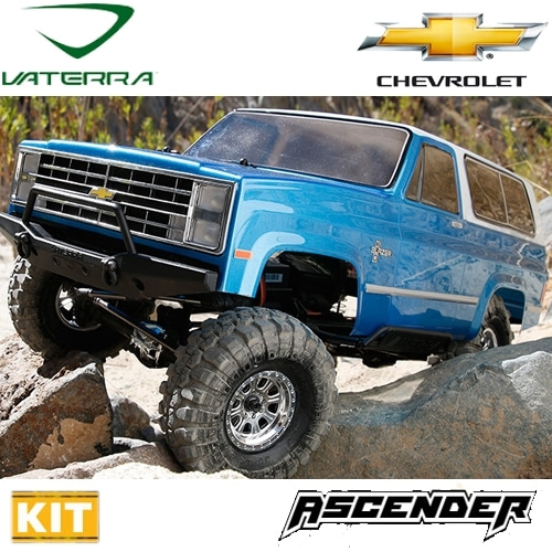 VTR03023 1/10th Scale 1986 Chevrolet K-5 Blazer Ascender Kit