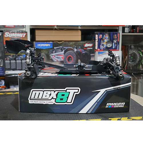 [E2024] Mugen Seiki MBX8TE 1/8 Off-Road 4WD Competition Electric Truggy Kit│중고상품