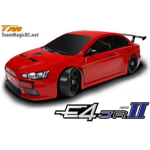 (풀 카본-RTR 전동 투어링) 507004-EVX New E4JR II E4JR II 1/10 EP Touring Car -EVX