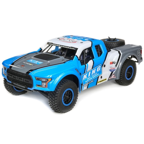 [포드랩터 바자레이]1/10 Ford Raptor Baja Rey 4WD Desert Truck Brushless RTR, King Shocks
