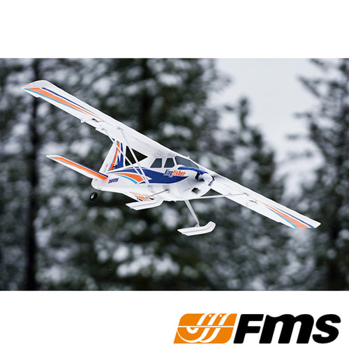 FMS 1400mm Kingfisher PNP (with Wheels, Floats, Skis and Flaps) - 입문용 RC비행기