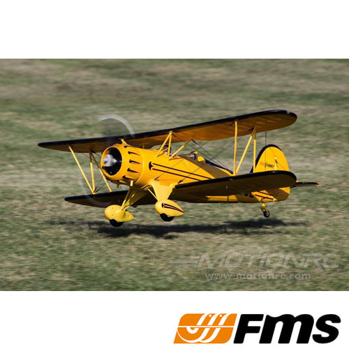 "RocHobby Waco Yellow 1030mm (40.5"") Wingspan - PNP"