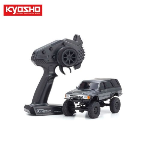MINI-Z 4x4 MX-01 Readyset Toyota 4Runner (Hilux Surf) Dark Gray Metallic