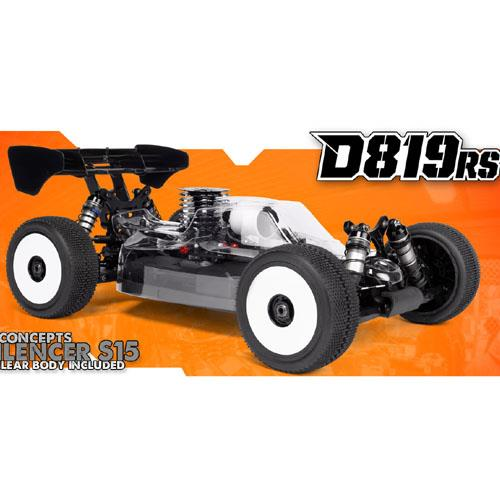 "HB Racing ""D819RS"" 1/8 Competition Nitro Buggy"