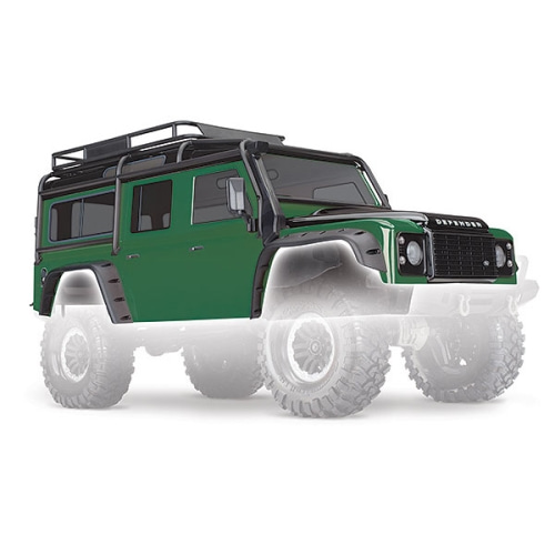 AX8011G BODY, LAND ROVER DEFENDER, GREEN
