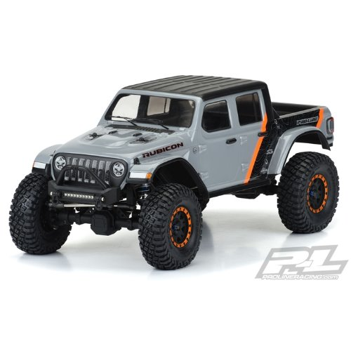 "AP3535 2020 Jeep® Gladiator Clear Body for 12.3"" (313mm) Wheelbase Scale Crawlers"