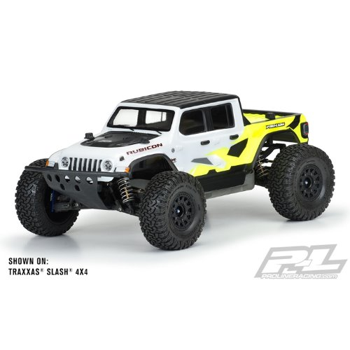 AP3542 Jeep Gladiator Rubicon Clear Body Slash