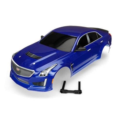 AX8391A BODY, CADILLAC CTS-V, BLUE (PAINTED,Body for 4-Tec 2.0)