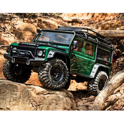 [예약상품]CB82056-4 GREEN Traxxas TRX-4 Scale and Trail Crawler 한정판 그린색상