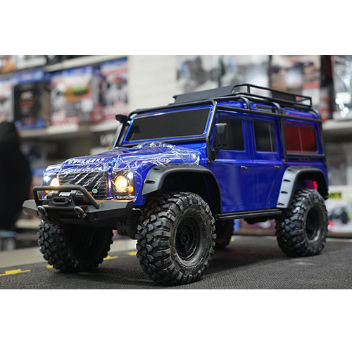 2020년 NEW CB82056-4 BLUE TRX-4 Scale and Trail Crawler /블루디펜더